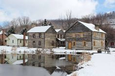 These 16 Historic Villages In Pennsylvania Will Transport You Into A Different Time. This is Old Bedford Village Oh The Places You'll Go, Places To Visit, Pennsylvania History, Bedford Pennsylvania, Brick Pathway, New Milford, Park Homes, Future Travel, Country