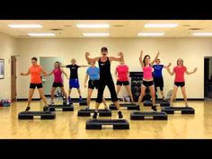 Watch Christi's Super Step in action! Come join us on Wednesday mornings at at Waco Regional Tennis & Fitness for a great workout and lots of fun! Step Aerobic Workout, Stepper Workout, Aerobics Workout, Step Aerobics, Tennis Workout, Best Cardio, Reduce Weight, Excercise, Workout Programs
