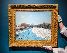 Last chance to view in #NYC: One of the most important works by Alfred Sisley to appear at auction, this rare snow scene from 1874 depicts a bright blue sky alongside a striking interplay between sunlight and shadow on the snow below, resulting in a spellbinding and luminous effect. Visit us today on York Ave ahead of our London auctions next month. #SothebysImpMod
