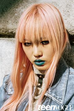 Fernanda Ly by Sean Thomas for Teen Vogue September 2015 Fashion Editor: Ondine Azoulay Hair: Tomohiro Ohashi Makeup: Christine Corbel Teen Vogue, Grunge Fashion, Teen Fashion, Estilo Grunge, Ondine, Pink Cotton Candy, Portraits, Portrait Art, Australian Models