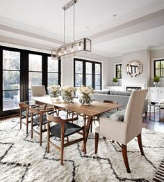 7 Austin Terrace - transitional - dining room - toronto - Lisa Petrole Photography