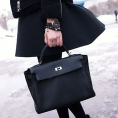 How to wear a Hermes Kelly 35 on Pinterest | Hermes Kelly Bag ...