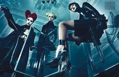 A Point of View Steven Klein11 Vogue Italia September 2011: A Point of View by Steven Klein
