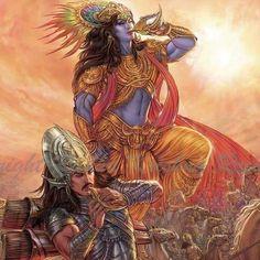 Krishna Leela, Krishna Radha, Krishna Love, Wicca, Hanuman Wallpaper, Lord Krishna Wallpapers, Lord Krishna Images, Krishna Painting, Shiva Shakti