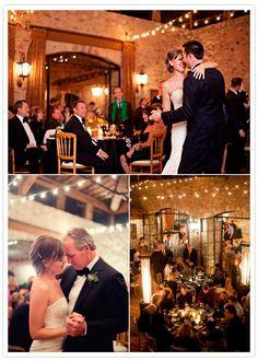 Arizona rock 'n' roll wedding: Megan + Derek Autumn Wedding, Chic Wedding, Wedding Blog, Wedding Planner, Wedding Ideas, Rustic Elegance, City Chic, Beautiful Space, String Lights