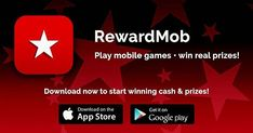 Hey come join me on RewardMob! Download the app now and start playing mobile games for real cash and prizes!  Use my referral code NQ9YXUSF so that when you win a prize we both do!
