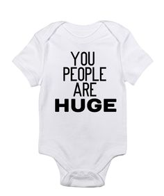 Items similar to You people are HUGE on Etsy Micro Preemie, Preemie Babies, Premature Baby, Preemies, Bob Marley, Twin Outfits, Girl Outfits, Preemie Clothes, Funny Tattoos