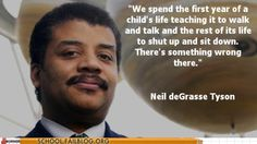 Neil deGrasse Tyson (he's the director of the planetarium at The American Museum of Natural History in NY from Night at the museum movie) ..... the tail end of his npr Fresh Air interview was amazing concerning his education, growing up with a love of science, and teachers not endorsing him ..... a true science hero and teachers should take note .......... http://www.npr.org/player/v2/mediaPlayer.html?action=1&t=1&islist=false&id=283443670&m=283504131&live=1