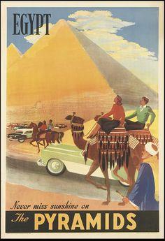 Vintage Egypt TravelPoster