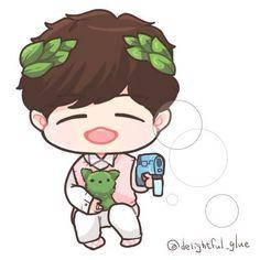 Hello My Love, Say Hello, Idol 3, Jaehwan Wanna One, Drawing Wallpaper, Kpop Couples, Kpop Drawings, Kim Jaehwan, Ha Sungwoon