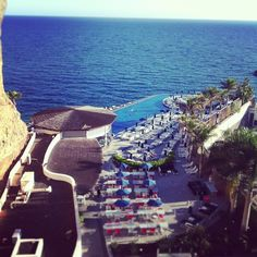 View from your suites overlooking the sea! #marinasuites #grancanaria