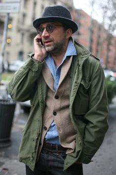 anunrealbritishgentleman:  Milan Fashion Week | © Fairchild...