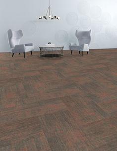 Shaw Teak Carpet Tile-24x 24 12 Tiles//case, 48 sq. ft.//case