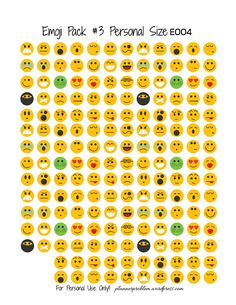 Emoji Pack #3!