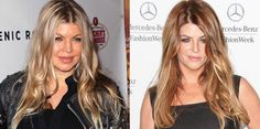 Fergie and Kirstie Alley