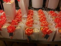 Welcome gifts for out of town guests. Welcome Bags, Welcome Gifts, Wedding Welcome Baskets, Weddings, Ideas, Food, Wedding, Essen, Meals