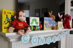 "Photo 18 of 22: Children's Books / Baby Shower/Sip & See ""Children's Book Inspired Baby Shower""   Catch My Party"