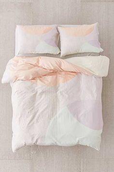 Iveta Abolina For DENY Peach Cobbler Duvet Cover