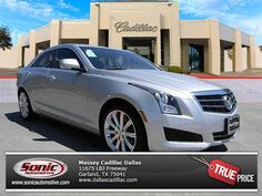 Looking for a remaining 2013 ATS? We have them in stock! Find your dream Cadillac at Massey Cadillac today! Cadillac Ats, Fuel Economy, Driving Test, Cars For Sale, Dallas, Luxury, Vehicles, Garland, Life
