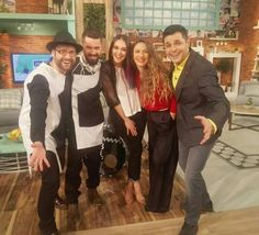 Today ,on PRO TV channel@ Cobzality band wears MIHHER .