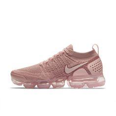Nike Air VaporMax Flyknit 2 Metallic Women's Shoe Size 5.5 (Rust Pink) Tênis Feminino, Pumps, Botas De Salto Alto, Saltos Pumps, Nike Para Meninas, Nikes Brancos, Tênis Air Max, Tênis Nike, Sapato Cor De Rosa