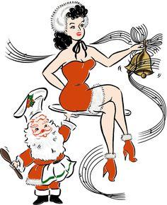 gallery - Mischief Made Retro Christmas, Christmas Stuff, Comic Books Art, Book Art, Cartoon As Anime, Pokemon Ships, Retro Lingerie, Tattoo Flash Art, Vintage Inspired Outfits