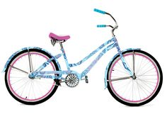 Lilly Pulitzer bike! want to ride around campus on this!