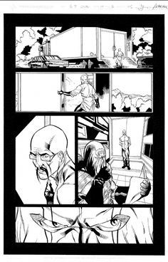 I MIEI SOGNI D'ANARCHIA - Calabria Anarchica: G.I. Joe Volume 2, Issue 14 Page 6  Artists: Kevin...