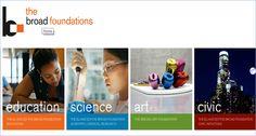 The Eli & Edythe Broad FoundationPLEASE VISIT http://donationmoneyfreetocharity.weebly.com