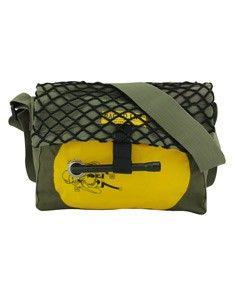 Bag to Life Co Pilot Bag Camo - Upcycled life vests and upcycled Army jackets