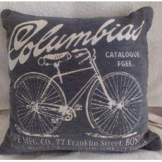 Vintage vankúš Columbias 02 -  sivý