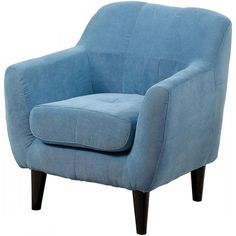 Furniture of America Heidi Kids Chair, Blue