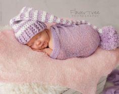 Quel un doux petit elfe chapeau pour votre nouveau bébé ! Votre bébé aura  lair mignon 298dd10a347