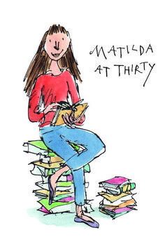 Roald Dahls Matilda Is Heres What She Might Be Up To Now - To Mark The Th Anniversary Of Matilda Sir Quentin Blake Who Illustrated Dahls Books Has Reimagined The Character In A Series Of Images Showing What She Might Be Doing Now Aged Matilda Roald Dahl, Chris Riddell, Quentin Blake Illustrations, Children's Day Activities, Dancing Drawings, Graffiti, Fairytale Art, Portraits, Book Projects