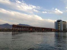 Puerto de Melilla. Nos la envía desde Twitter Rebeca Ferrol. ¡Gracias por la foto!
