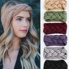 Crochet Hairband, Crochet Bows, Knitted Headband, Knit Crochet, Wide Headband, Crochet Fish, Crochet Granny, Turban Headbands, Headband Hairstyles