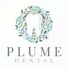 Plume+Peacock+Dental+logo                                                                                                                                                                                 More