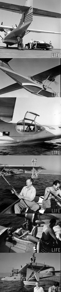 Family vacation in a PBY flying boat (!)