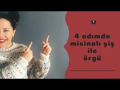 Misinalı Şiş ile Nasıl Örülür - YouTube Knit Wear, Make It Yourself, Jacket, Knitting, Crochet, Youtube, Instagram, Crochet Hooks, Tricot