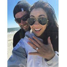 She said yes! Sending a #tuesdaytoast to Crystal & her fiancé Mark. Congratulations! #showyourcoast #coastdiamond