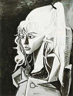 Sylvette, 1954 #Pablo Picasso (Dunway Enterprises) http://amzn.to/2afoOjz