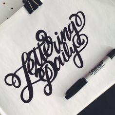 sharpie lettering - Google Search