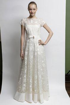 Loving This Sweet Demure Wedding Dress By Temperley London Photo Dan Lecca