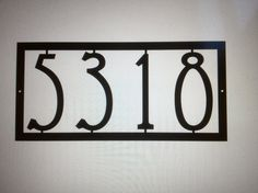 1000 ideas about house numbers modern on pinterest house numbers address plaque and modern. Black Bedroom Furniture Sets. Home Design Ideas