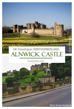 """UK Travelogue: """"A Day for a Daydream"""" - Explore the north of England, including Alnwick and Warkworth Castles in Northumberland. Warkworth Castle, Eastnor Castle, Castle 2009, Alnwick Castle, Alec Guinness, Stone Cottages, Herefordshire, Travelogue, Palaces"""