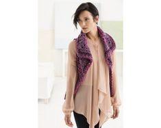 Sangria Vest (Crochet)