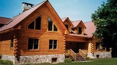 Log Home Design Plan and Kits for Snowshoe