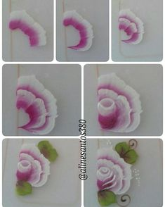Lace Painting, One Stroke Painting, Body Painting, Donna Dewberry Painting, Airbrush Nails, One Stroke Nails, Tole Painting Patterns, Finger Nail Art, Nail Art Hacks