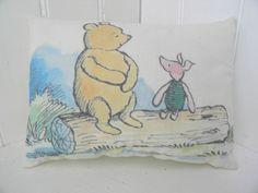 Winnie the Pooh and Piglet Mini Pillow. £9.00, via Etsy.
