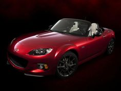 mazda mx-5 miata 25th anniversary edition автомобиль